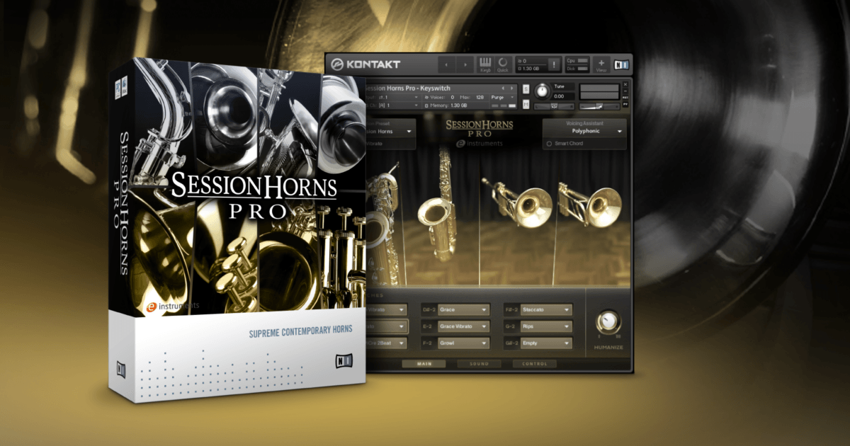 Beat Making: Native Instruments - Session Horns Pro 1.3 (KONTAKT)