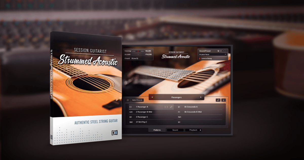 Komplete : Guitar : Session Guitarist Strummed Acoustic | Products